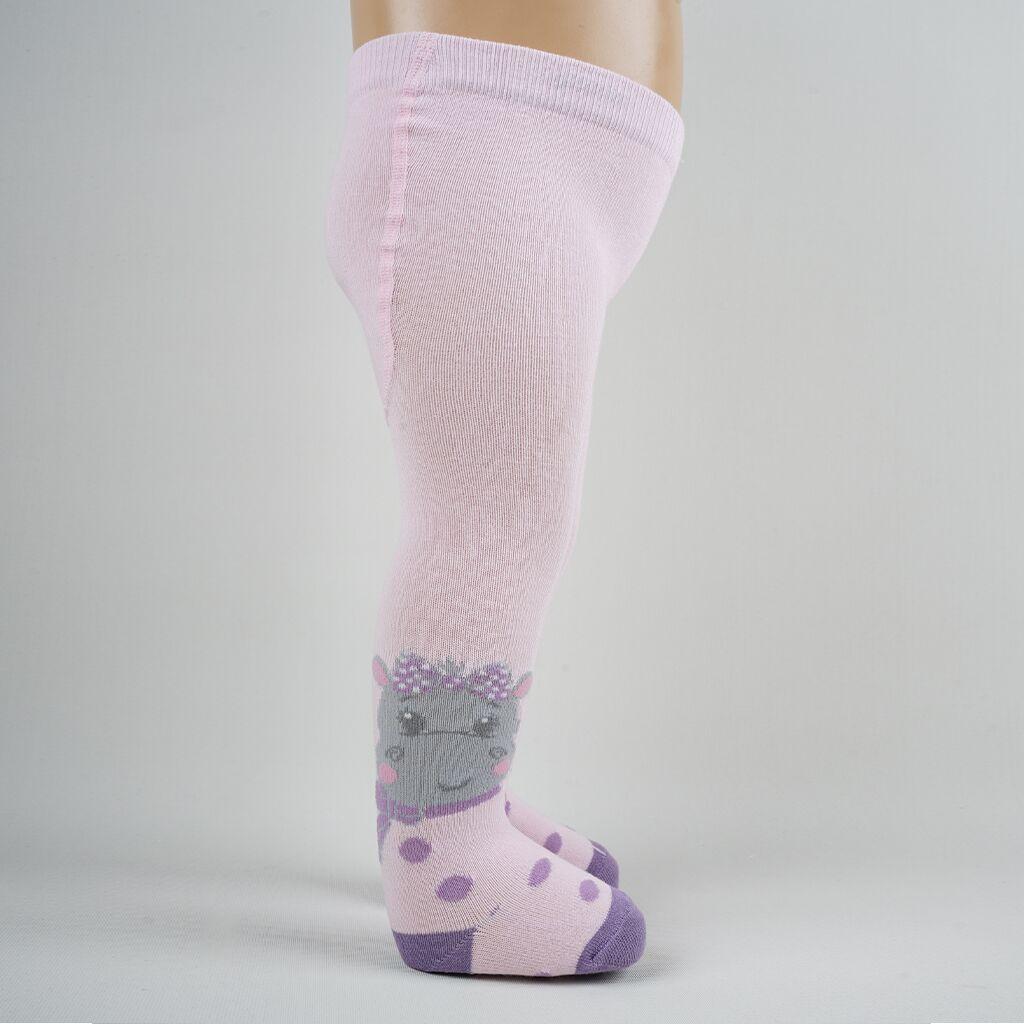 Hippo Kız Bebek Külotlu Çorap